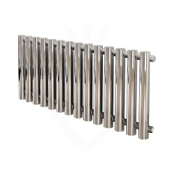 Carisa Mayra Chrome Radiator - 1020 x 550mm