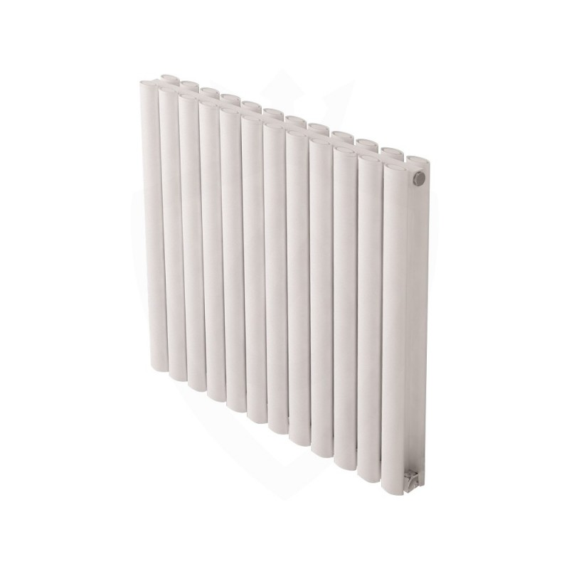 Carisa Tallis Double White Aluminium Radiator - 710 x 600mm