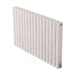 Carisa Tallis Double White Aluminium Radiator - 950 x 600mm