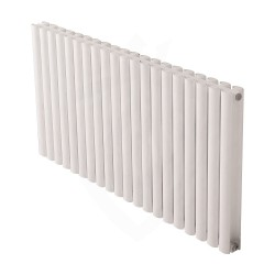 Carisa Tallis Double White Aluminium Radiator - 1190 x 600mm