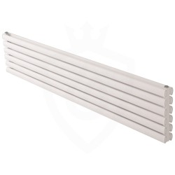 Carisa Tallis Double White Aluminium Radiator - 1800 x 350mm