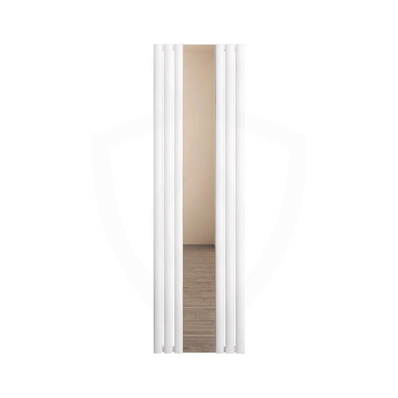 Carisa Tallis White Aluminium Radiator - 550 x 1800mm