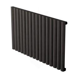 Carisa Tallis Black Aluminium Radiator - 950 x 600mm
