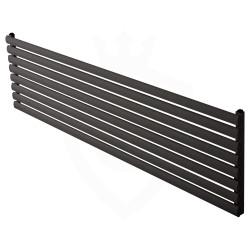 Carisa Tallis Black Aluminium Radiator - 1800 x 470mm