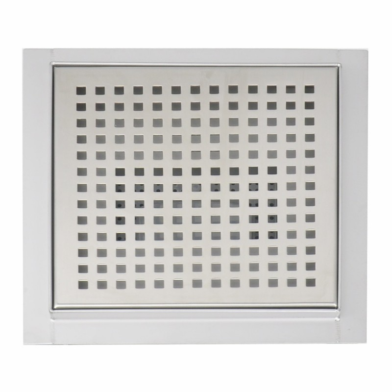 Square Stainless Steel Wet Room Drain