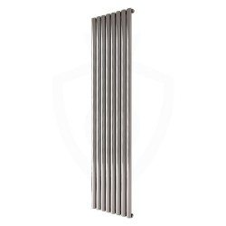 Carisa Tallis Polished Aluminium Radiator - 470 x 1800mm