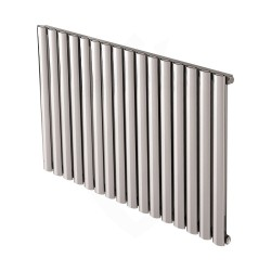 Carisa Tallis Polished Aluminium Radiator - 1190 x 600mm