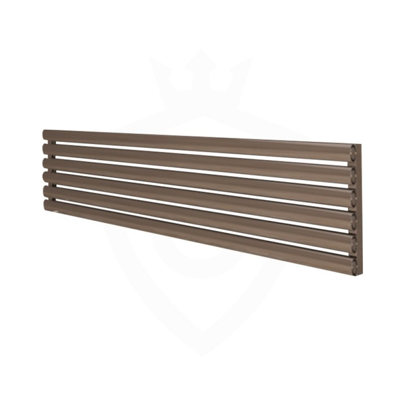 Carisa Tallis Polished Aluminium Radiator - 1800 x 350mm