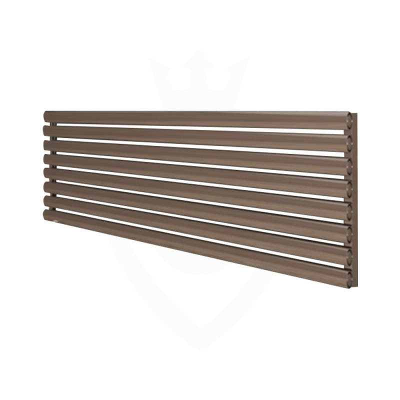 Carisa Tallis Polished Aluminium Radiator - 1800 x 470mm