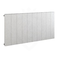 Carisa Elvino White Aluminium Radiator - 1245 x 600mm