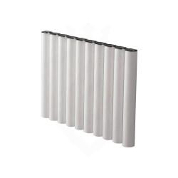 Carisa Otto White Aluminium Radiator - 795 x 600mm