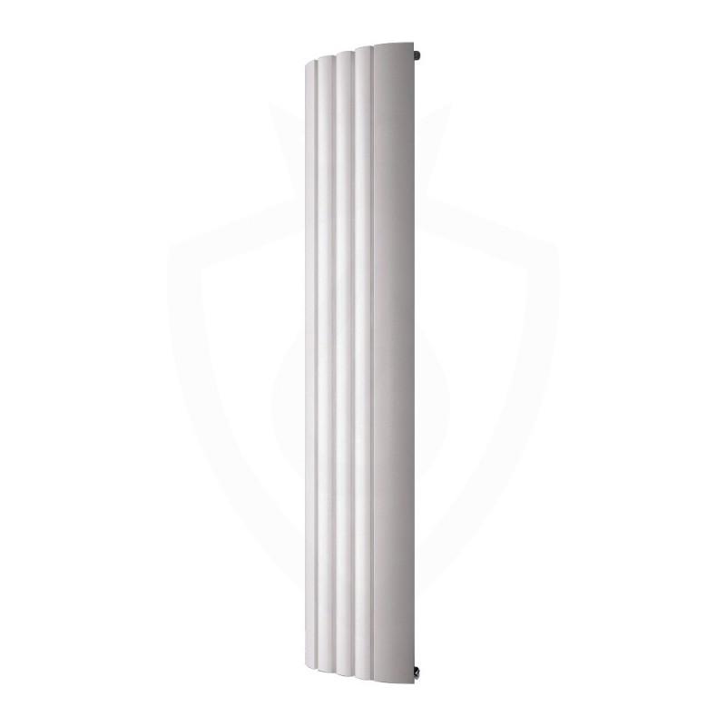 Carisa Gaia White Aluminium Radiator - 430 x 1800mm