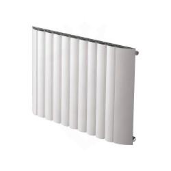 Carisa Gaia White Aluminium Radiator - 880 x 600mm