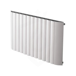 Carisa Gaia White Aluminium Radiator - 1030 x 600mm