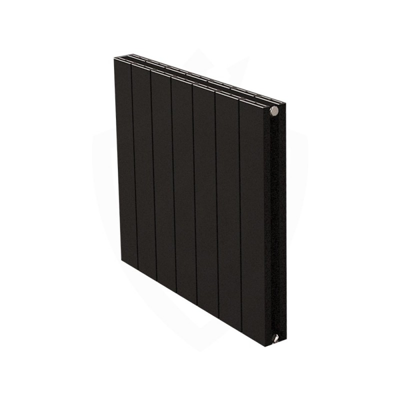 Carisa Nemo Double Black Aluminium Radiator - 660 x 600mm