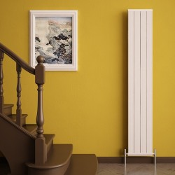 Carisa Elite White Aluminium Radiator - 295 x 1800mm