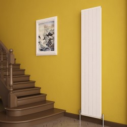 Carisa Elite White Aluminium Radiator - 370 x 1800mm