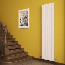 Carisa Elite White Aluminium Radiator - 445 x 1800mm