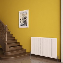 Carisa Elite White Aluminium Radiator - 895 x 600mm