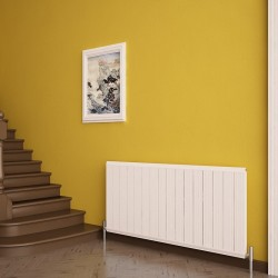 Carisa Elite White Aluminium Radiator - 1195 x 600mm