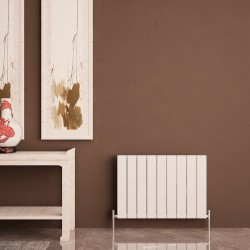 Carisa Nemo Double White Aluminium Radiator - 850 x 600mm - Installed