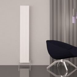 Carisa Monza Double White Aluminium Radiator - 280 x 1800mm - Installed
