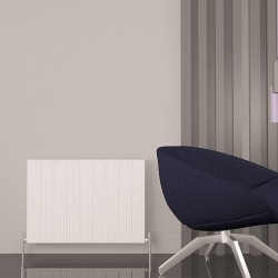 Carisa Monza Double White Aluminium Radiator - 850 x 600mm - Installed