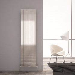 Carisa Monza Double Polished Aluminium Radiator - 470 x 1800mm