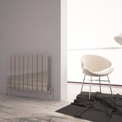 Carisa Monza Double Polished Aluminium Radiator - 850 x 600mm