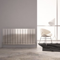 Carisa Monza Double Polished Aluminium Radiator - 1230 x 600mm