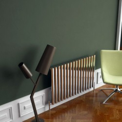 Carisa Tallis Polished Aluminium Radiator - 950 x 600mm