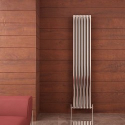 Carisa Tallis Double Polished Aluminium Radiator - 350 x 1800mm