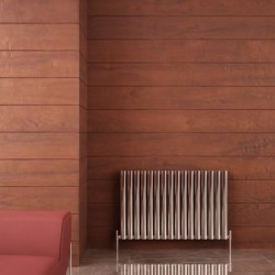 Carisa Tallis Double Polished Aluminium Radiator - 950 x 600mm