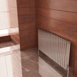 Carisa Tallis Double Polished Aluminium Radiator - 1190 x 600mm