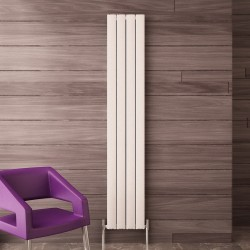Carisa Elliptic White Aluminium Radiator - 205 x 1800mm