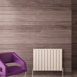 Carisa Elliptic White Aluminium Radiator - 795 x 600mm
