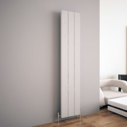 Carisa Elvino White Aluminium Radiator - 370 x 1800mm