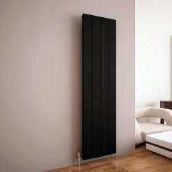 Carisa Elvino Black Aluminium Radiator - 495 x 1800mm
