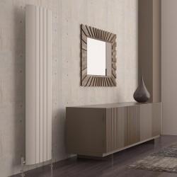 Carisa Gaia White Aluminium Radiator - 505 x 1800mm
