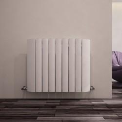 Carisa Gaia White Aluminium Radiator - 730 x 600mm