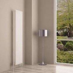 Carisa Tubo White Aluminium Column Radiator - 290 x 1800mm