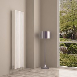 Carisa Tubo White Aluminium Column Radiator - 340 x 1800mm