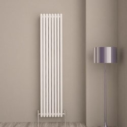 Carisa Tubo White Aluminium Column Radiator - 390 x 1800mm