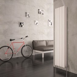 Carisa Karo White Aluminium Column Radiator - 290 x 1800mm