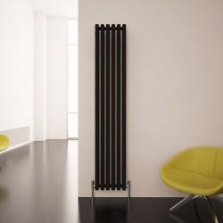 Carisa Karo Black Aluminium Column Radiator - 290 x 1800mm