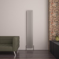 Carisa Mistral Brushed Stainless Steel Radiator - 320 x 1800mm