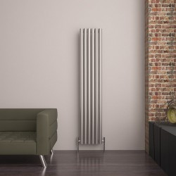 Carisa Mistral Brushed Stainless Steel Radiator - 385 x 1800mm