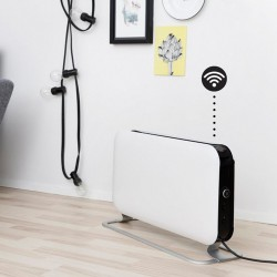 Mill Heat WIFI + Bluetooth Enabled 1200W Electric Freestanding Convector Heater