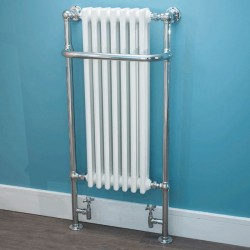 Anne Traditional Towel Rail - 550 x 1130mm - Installed