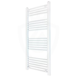 Straight White Towel Rail - 500 x 1200mm